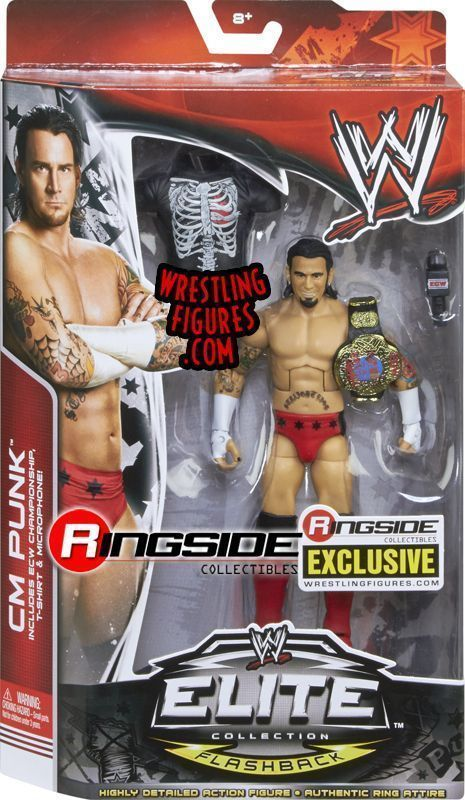 CM Punk ECW Flashback Ringside Collectibles Exclusive