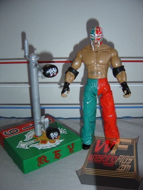 Rey Mysterio: Rey runs in to the same problem Orton does with the tattoos on